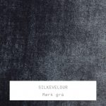 Silkevelour / Mørk Grå