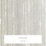 Råsilke / Hvid