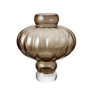 Mundblæst vase i ballonform
