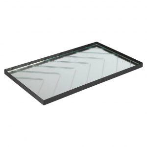 Spejlbakke 50x30 cm sildeben